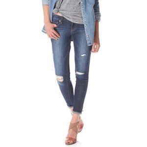 Paige Verdugo Ultra Distressed Skinny Jeans.